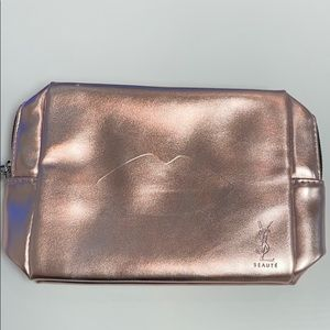 YSL Beautè Standard Pouch Rose Gold